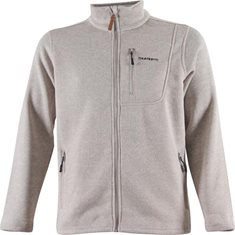 Jacka F.Fleece  Lt Grey