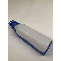 Vattenflaska m kopp blå