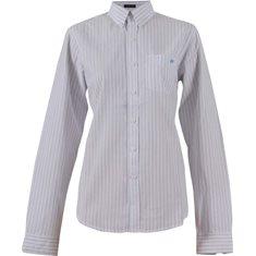 Skjorta  Vit/blå