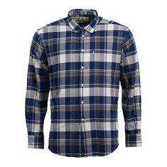 Skjorta Hersley patch Mid olive