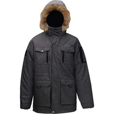 Jacka Herr Parka Softs.  Grey melange