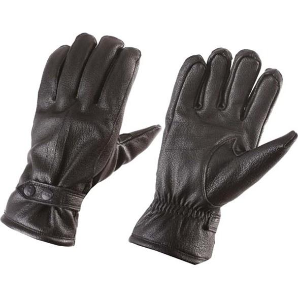 Handske läder  Black