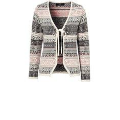 Jacka Moritz knit S H.Rose/Asphalt/Creme