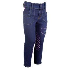 Ridbyxa Bellamonte  jeansblå