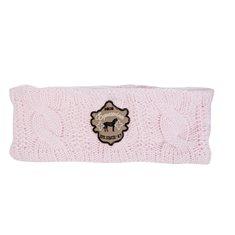 Pannband m fleecefoder rosa
