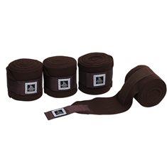 Fleecebandage 4-p brun