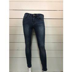 Byxa jeans m rosett