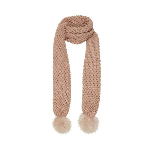 Scarf Aysa Rose smoke