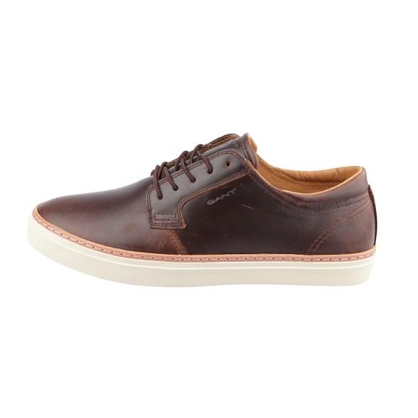 Sneaker Bari low lace Cognac
