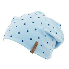 Mössa junior ljusblå m stjärna
