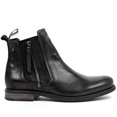 Jodphurs Concrete Leather Black