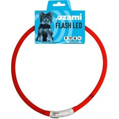 Halsband Flash Led röd 70cm