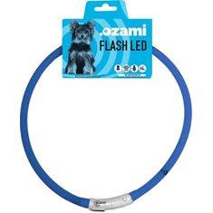 Halsband Flash Led blå 70cm
