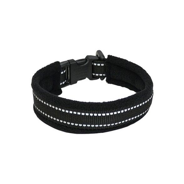 Halsband reflex svart