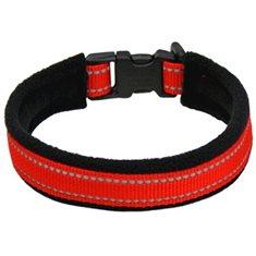 Halsband reflex röd
