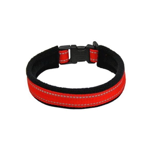 Halsband reflex röd 20cm