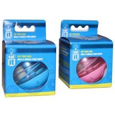 Aktivitetsboll katt rosa 8cm