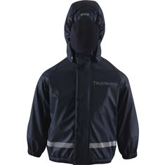 Regnset Pu+Fleece Navy