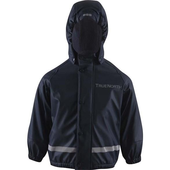 Regnset Pu+Fleece Navy