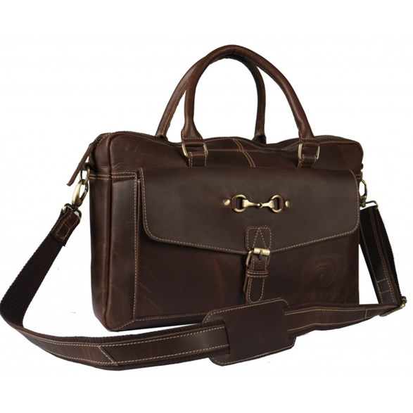 Väska Briefcase brown