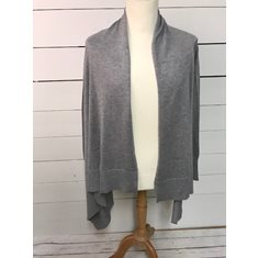 Cardigan Claudisse Square  Med grey