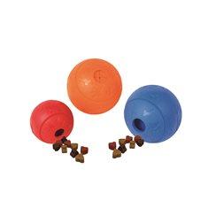 Hundleksak gummi snackball 8 cm