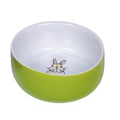 Matskål KE Rabbit 11cm Grön