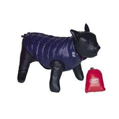 Hundtäcke Light vändbar Bulldog blå/röd
