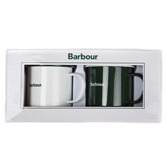 Mugg Barbour 2-p White/green
