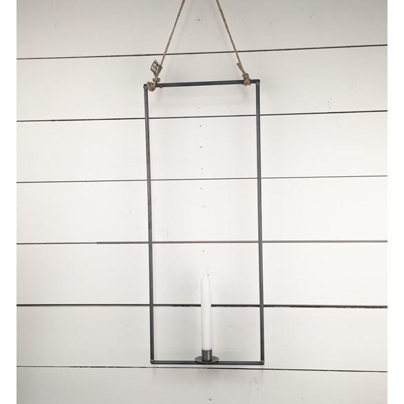 Ljus i rektangel för 1ljus 4mm hängande