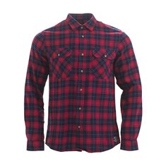 Skjorta David  Chili red check