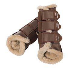 Boots Fauxfur Copper