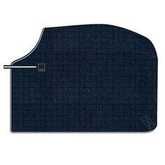 Skrittäcke Wool Navy