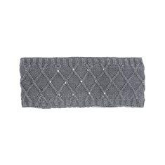 Pannband Pearl grå melange