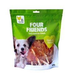 Hundgodis FFD Chicken N`Rawhide 400g