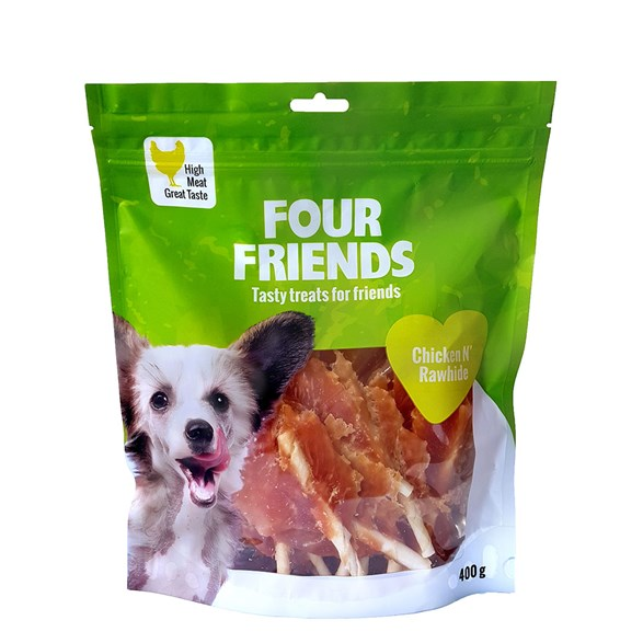 Hundgodis FFD Chicken N`Rawhide