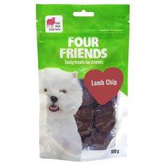 Hundgodis FFD Lamb Chip 100g