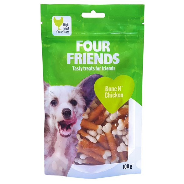 Hundgodis FFD Bone N`Chicken 100g