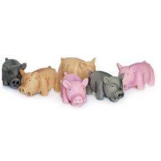 Latex Pig 23 cm ass color