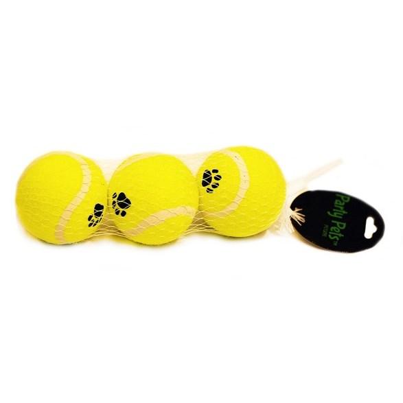 Tennisboll 6,5 cm 3-p