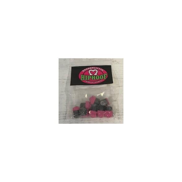 Brodd 8-pack 6mm Rosa