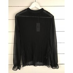 Blus Pleat Black