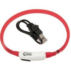 Halsband Visio röd 35cm