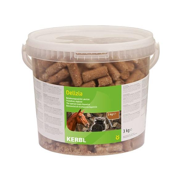 Hästgodis Delizia lakrits 3kg