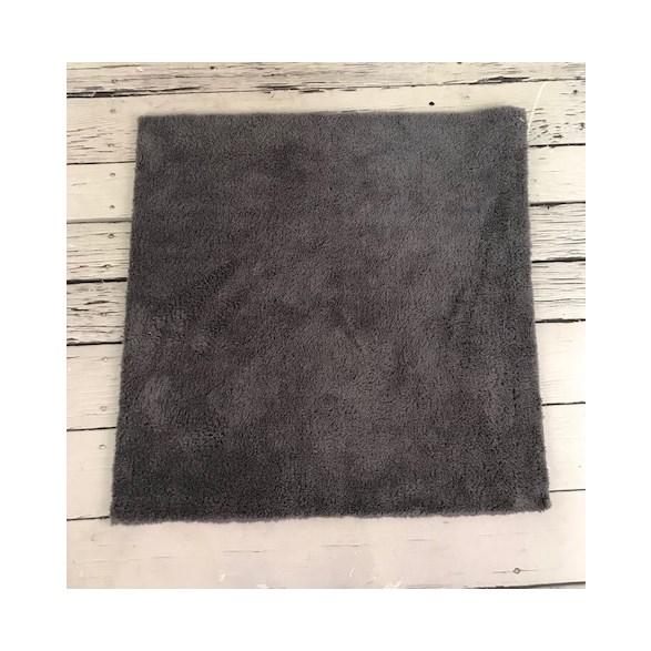 Microfiberduk grå