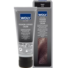 Woly Fashion leather cream tub