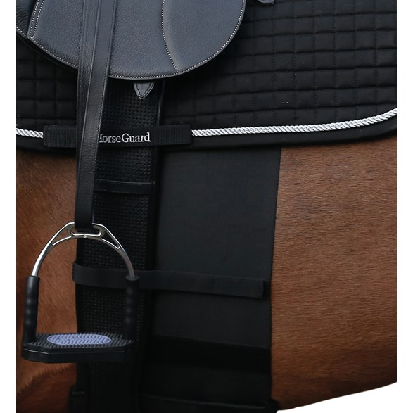Bandage Horse Sensitive Cob Svart