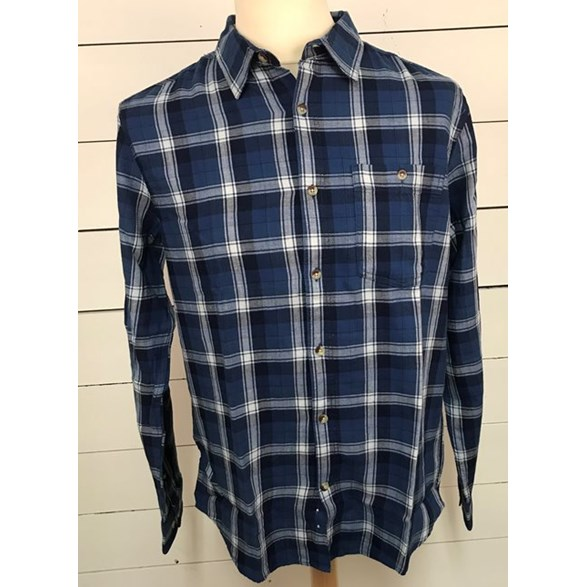 Skjorta Flanell Willy Navy