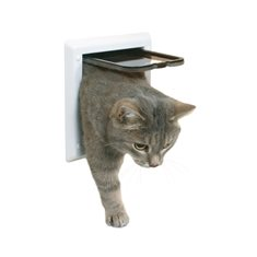 Kattdörr Freecat classic 2-v vit