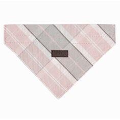 Hundscarf Pink/Grey tartan